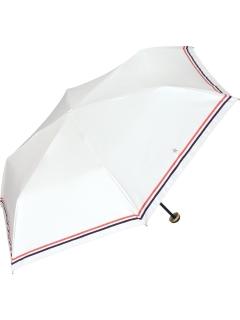 【折りたたみ傘】遮光ダブルラインスターmini