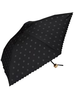 【折りたたみ傘】遮光軽量ボタンフラワーmini