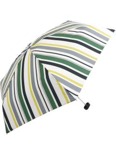 【折りたたみ傘】マルチストライプmini