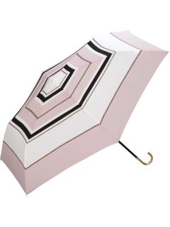 【折りたたみ傘】スカーフボーダーmini