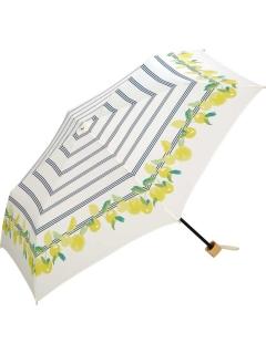 【折りたたみ傘】ボーダーフルーツmini