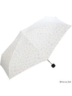 【折りたたみ傘】80sスマイリーmini