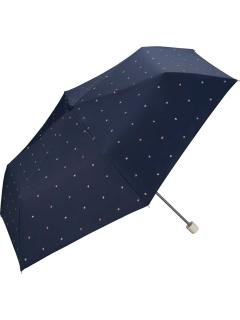 【折りたたみ傘】遮光ブロックハートmini