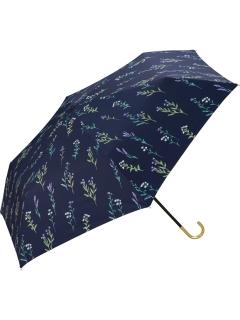 【折りたたみ傘】遮光春の庭mini