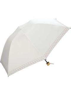 【折りたたみ傘】遮光バードケージハートmini