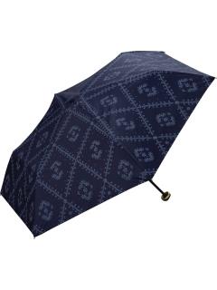 【折りたたみ傘】遮光クロスフラワープリントmini