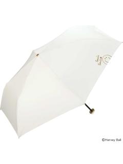 【折りたたみ傘】遮光スマイリードローイングmini