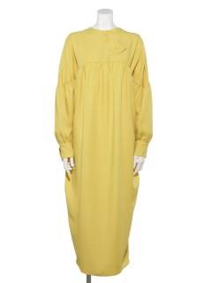 CONE SHAPED TAB DRESS