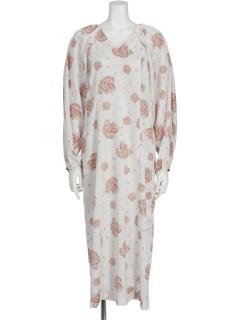 PAISLEY WOVEN DRESS