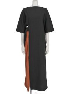ASYMMETRY KNOT DRESS