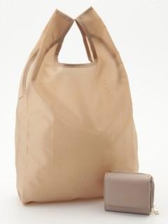 エコバッグ付き3つ折り財布
