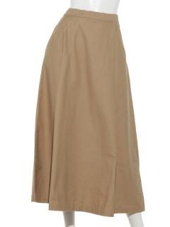綿スラブタックロングスカート