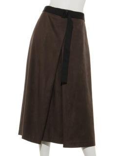 ベルト付スカート