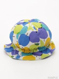 [ベビー・ユニセックス]notsobig アップルドゥドゥプリント帽子