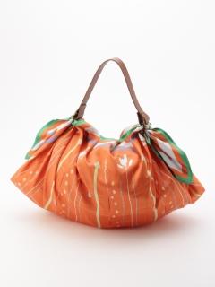 アーティストコラボ「植物の紬」プリントふろしきエコバッグ